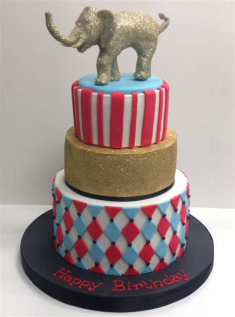 Circus birthday cakes   Cakes by Robin