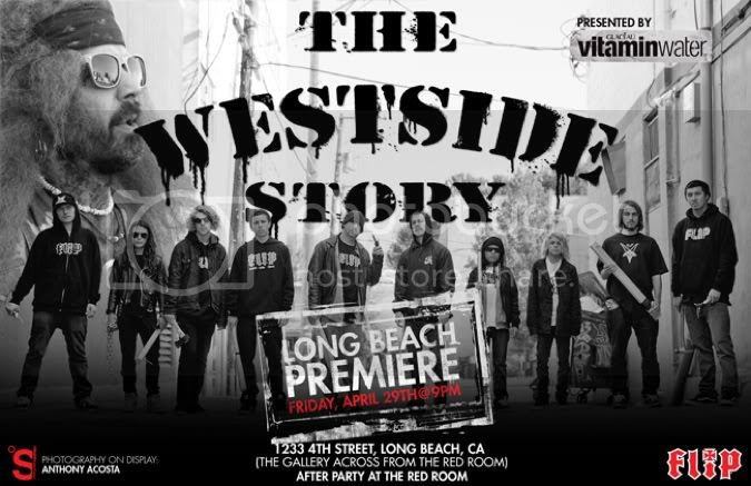Mike Langy Flip Westside Story Premiere In Long Beach