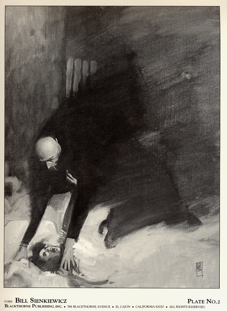 Bill Sienkiewicz - Vampyres (Blackthorne Publishing, Inc 1985) Plate 2