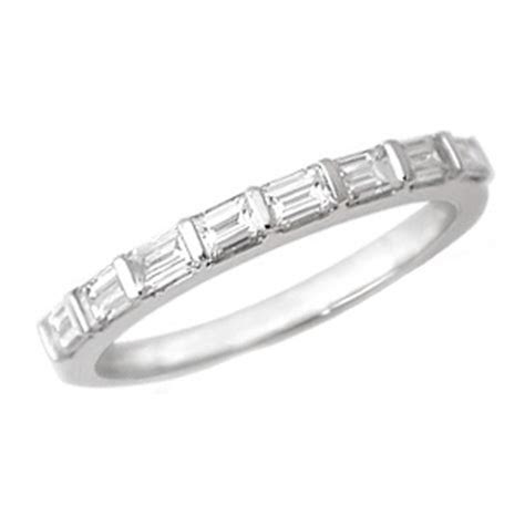 Wedding Band   Baguette Diamond Wedding Band 0.50 tcw. Bar