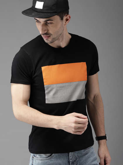 1d629eab Men T-shirts - Buy T-shirt for Men Online in India | Myntra