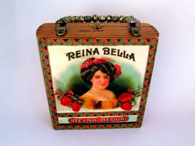 Reina Bella Cigar Box Purse