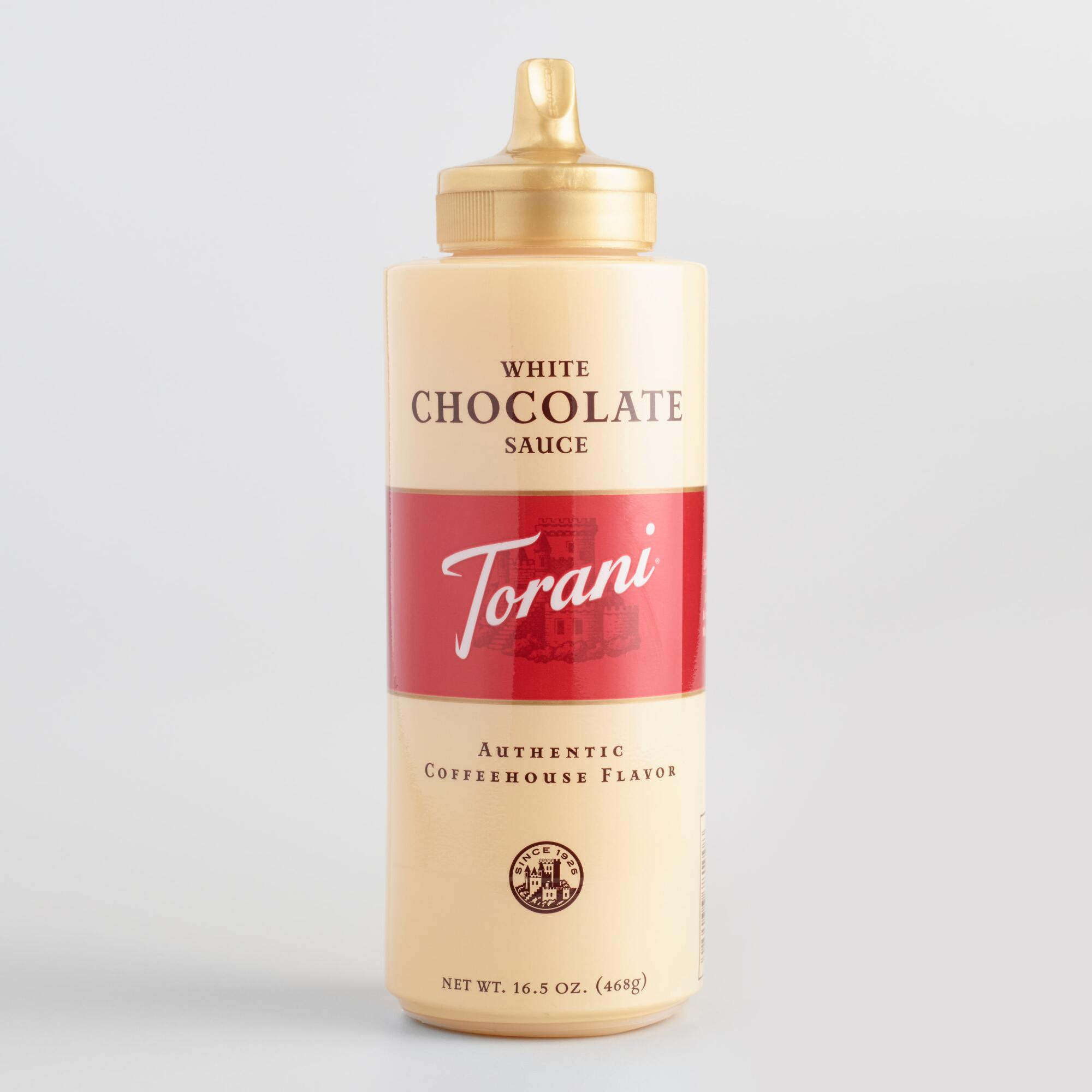 Torani White Chocolate Sauce from Cost Plus World Market