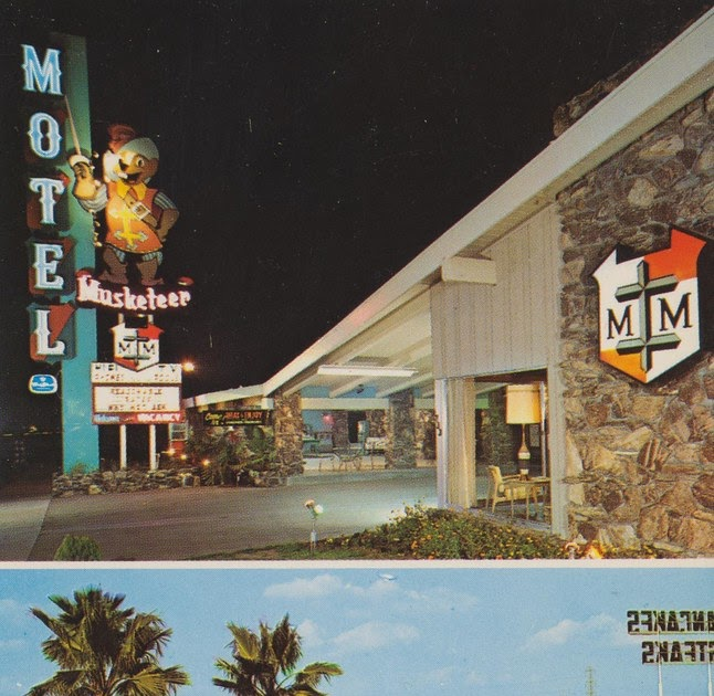 The Cardboard America Motel Archive Musketeer Motel