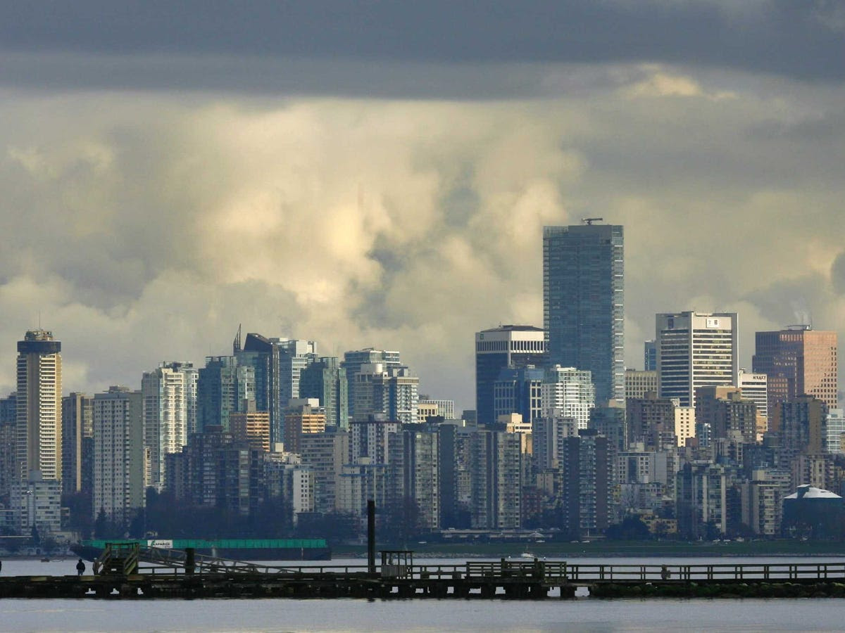 15.) VANCOUVER drops one place from last year, staying as Canada's second most important city for finance.