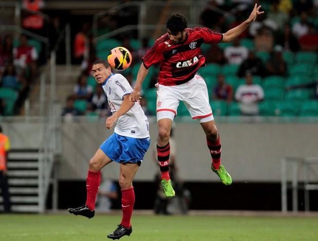 FLA perde para o Bahia e volta ao Z4 do Brasileirão / Crédito da foto: FuturaPress