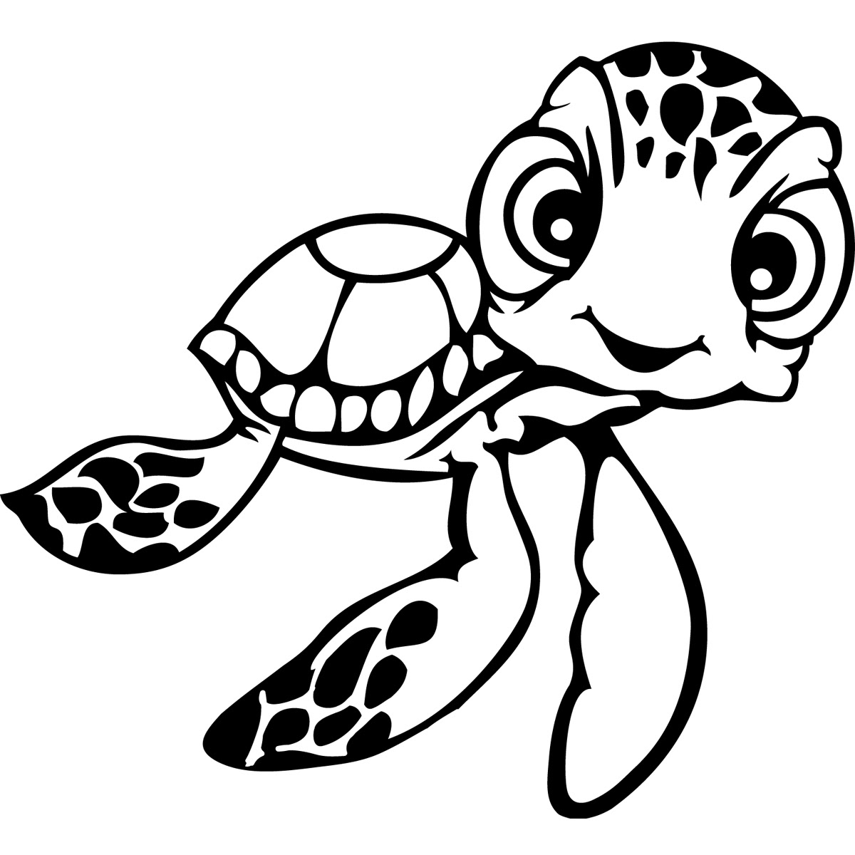 Detailed Turtle Coloring Pages at GetColorings.com   Free ...
