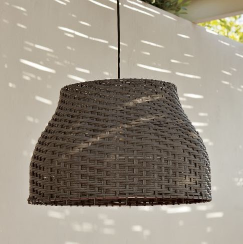 Hoyt Outdoor Pendant - contemporary - outdoor lighting - - by West Elm