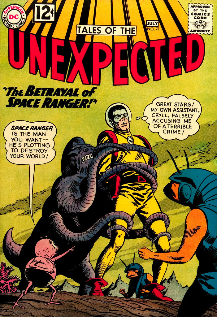 Tales of the Unexpected #71 (DC, 1962) Bob Brown cover