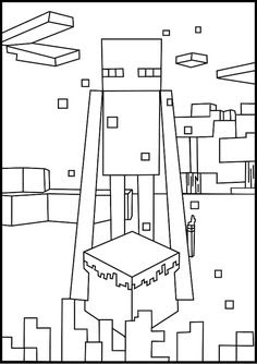 Minecraft Coloring Pages on Pinterest