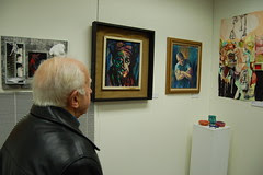 Gallery218: Victor Pisini views the gallery
