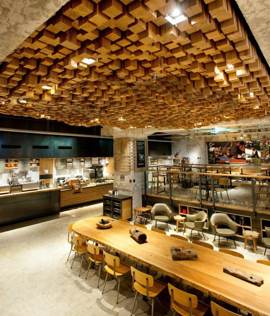 Starbucks Concept Store : Amsterdam | Trendland