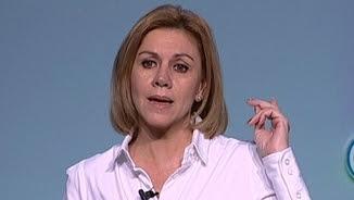 La secretària general del PP, María Dolores de Cospedal