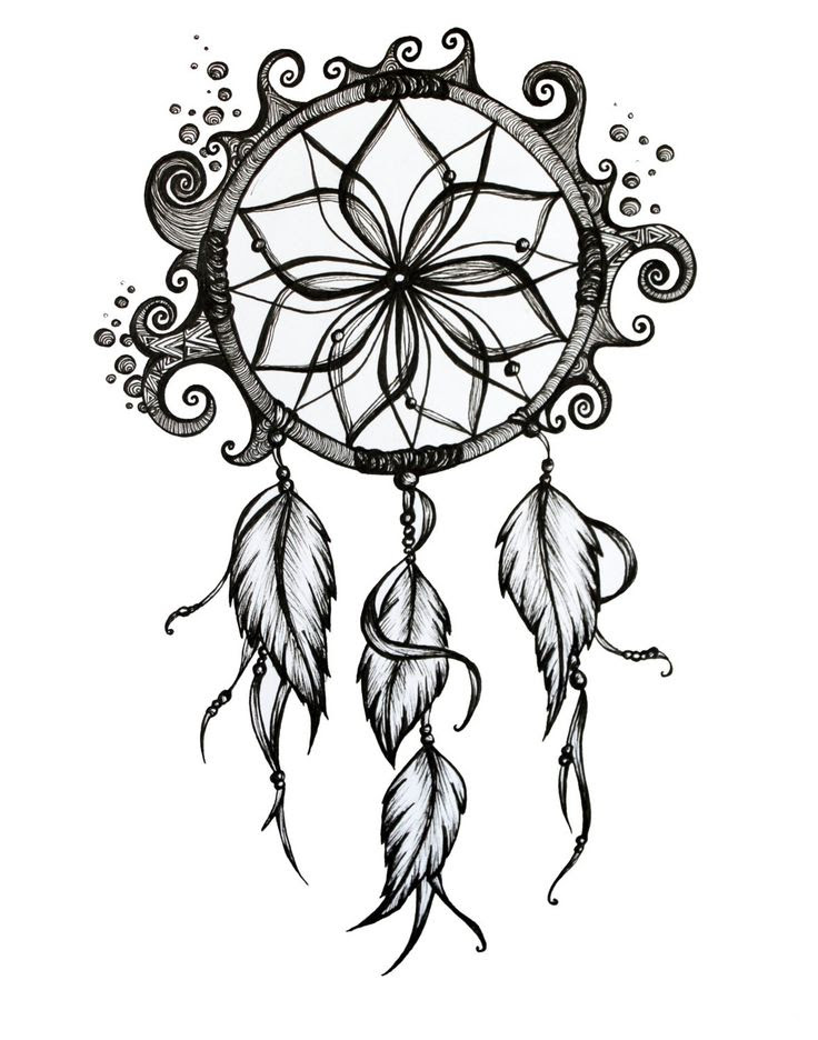 Dream Catcher Tumblr Drawing At Getdrawingscom Free For Personal