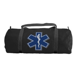 EMS GYM DUFFEL BAG