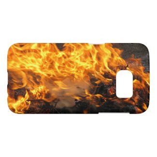 Burning Brush Samsung Galaxy S7 Case