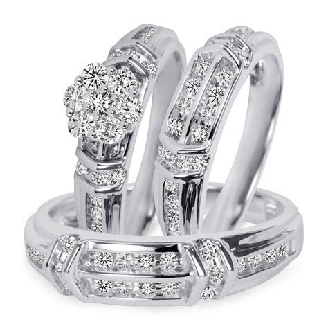 Collection cheap wedding band sets his and hers   Matvuk.Com