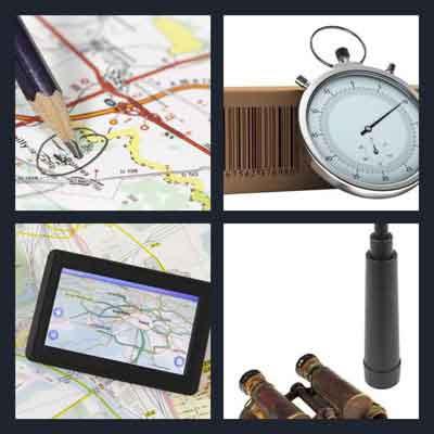 Map 4 Pics 1 Word