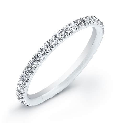 Micro Pave Eternity Band 2MM Wire 0.54CT