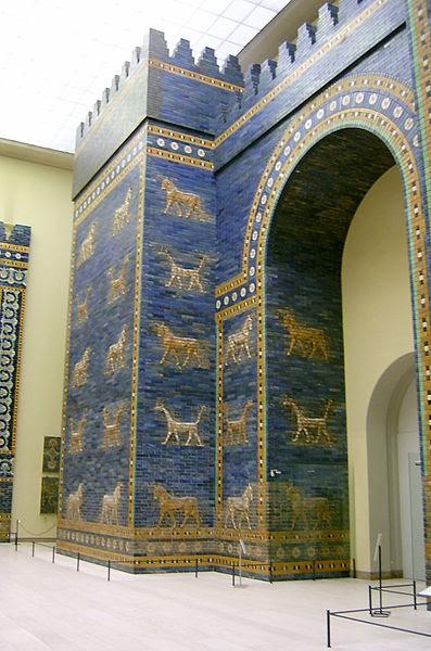 Fichier:Ishtar gate Pergamon Museum.JPG