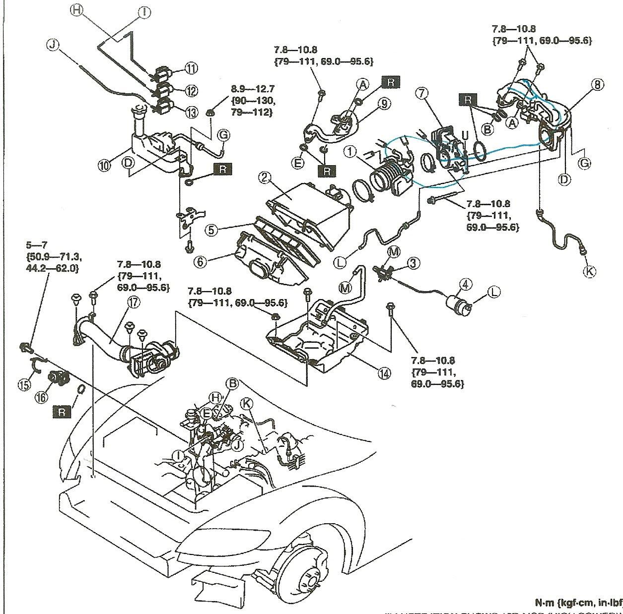 2001 mazda b3000 fuel pump relay