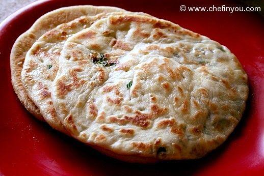 Onion Paneer Kulcha Recipe | Indian Bread Recipes | Chef ...
