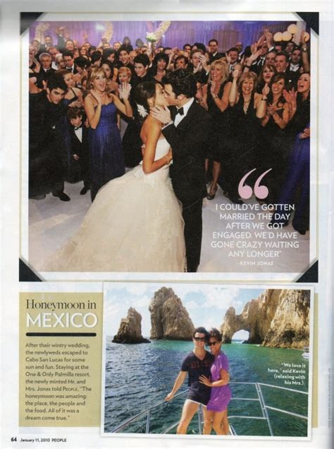 Kevin Jonas Wedding Album
