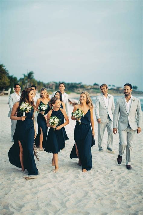 Elegant   Simple Destination Wedding on the Beach in