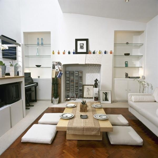 Asian house interior design - basic principles of decoration