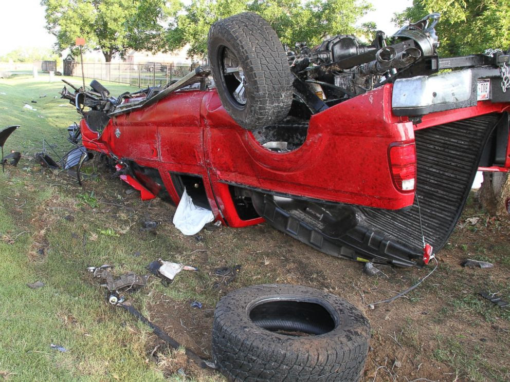 PHOTO: Ethan Couch reportedly drove this pick-up truck 70 miles per hour before causing a fatal car crash.