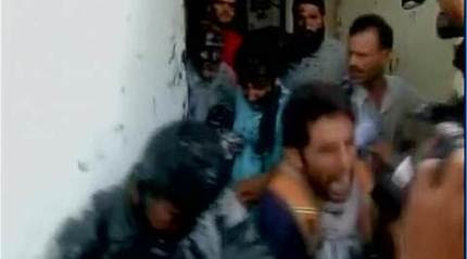 Ink attack on J-K MLA, who was assaulted for hosting beef party