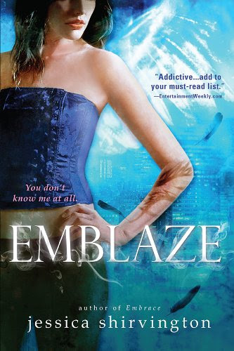 Emblaze (Embrace) by Jessica Shirvington