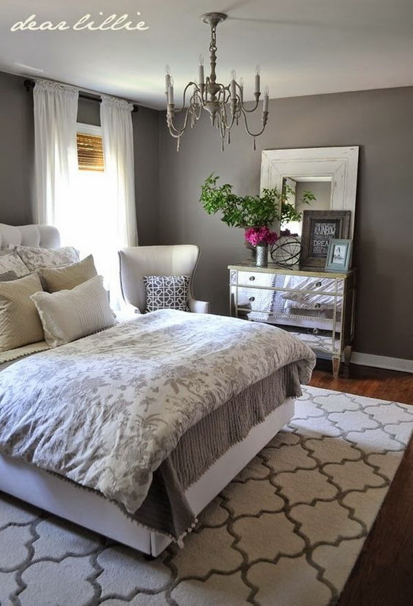 Master Bedroom Paint Color Ideas: Day 1-Gray - For