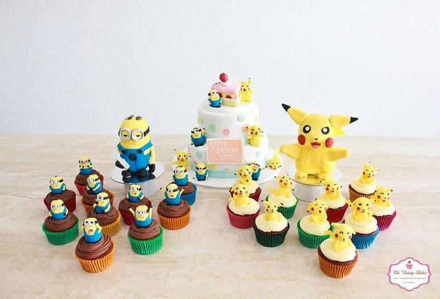 Minions & Pikachu-2