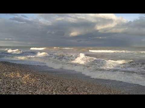 il mare d'inverno a Scerne di Pineto