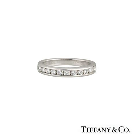 tiffany   brilliant cut diamond  eternity