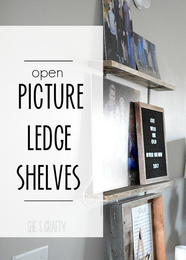 open shelving, picture shelves,