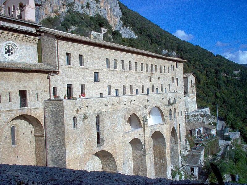 File:Subiaco-Monastero di San Benedetto.JPG