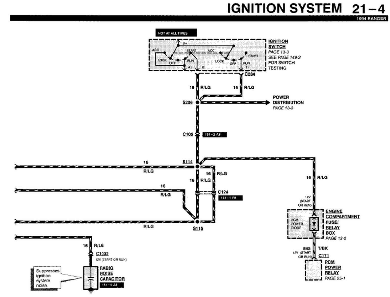 35 1994 Ford Ranger Radio Wiring Diagram