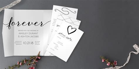 Personalized Save the Dates & Wedding Invites