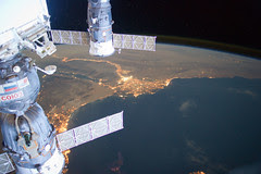 Middle East at Night (NASA, International Spac...