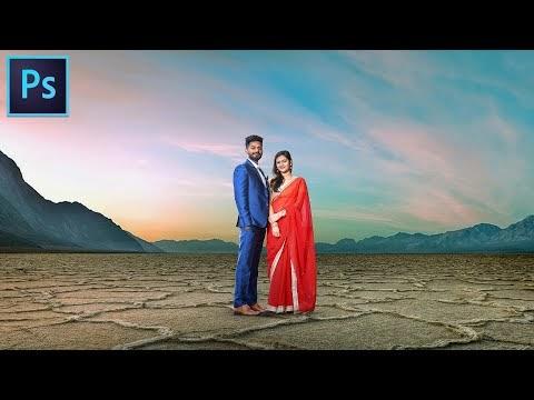Pre wedding Photo Photoshop Manipulation हिंदी में फोटोशॉप एडिटिंग सीखे?