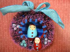 Matryoshka Wreath, Nellie's Fairytale!