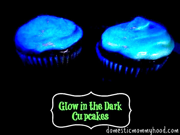 Glow In The Dark Cupcakes Domestic Mommyhood
