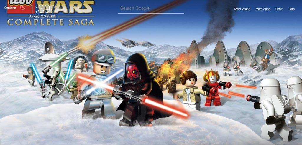 Lego Star War Game Wallpapers Hd New Tab Theme Chrome Extensions Faerytab