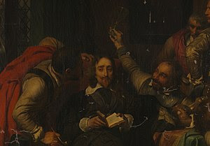 Charles I Insulted by Cromwell's Soldiers (partial detail)
