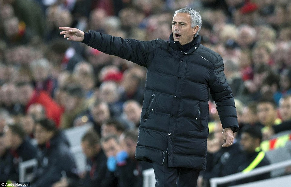 United boss Jose Mourinho made sure his side did not lose at Anfield as he set up for a point and got his wish granted
