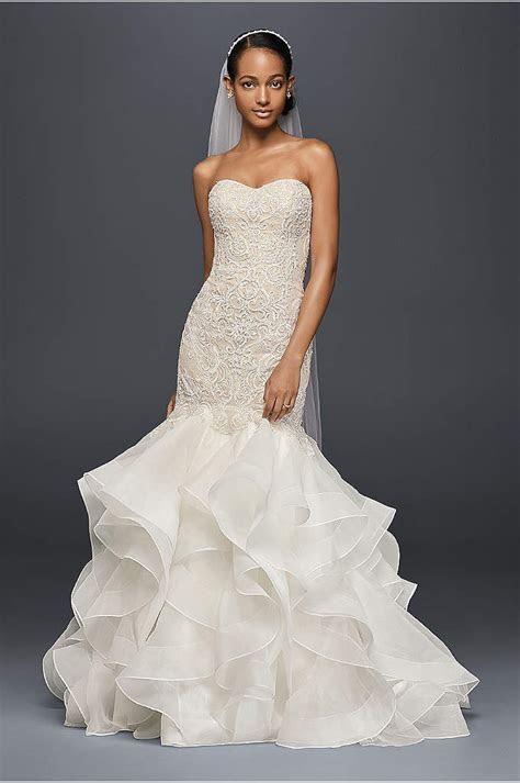 Melissa Sweet Illusion Lace Mermaid Wedding Dress   David