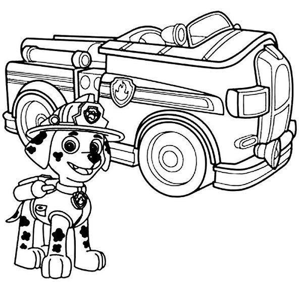 Plus Que 50 Coloriage De Camion De Pompier Coloriages à