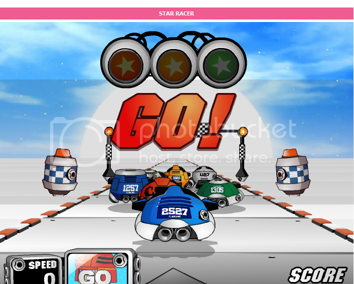 High - speed car racing game